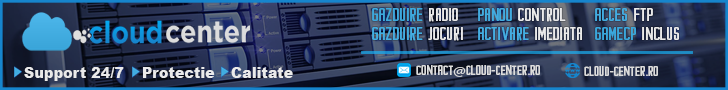 Host MC, Gazduire MTA, Gazduire CS, Gazduire CSGO, Hosting, Cloud-Center.ro